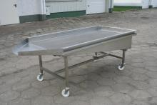Oak seeds draining table WSO