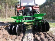 Nizinski's forestry disc harrow BN